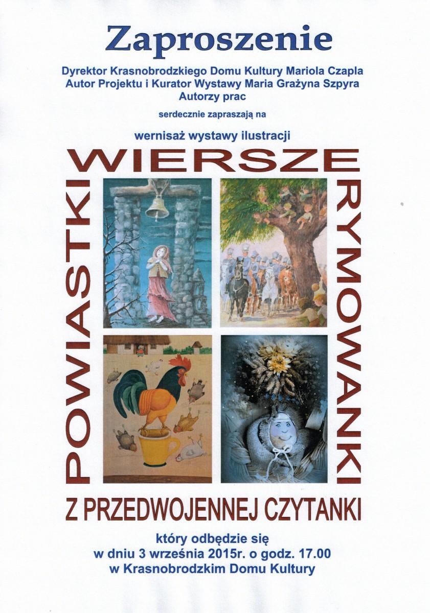 Wystawa Ilustracji Wiersze Powiastki I Rymowanki Z